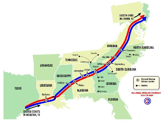 Кибератака на трубопровод Colonial Pipeline: масштаб бедствия и сроки возобновления работы