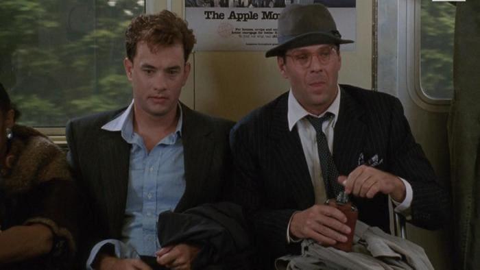 Кадр из фильма «Костры тщеславия», 1990 г.
