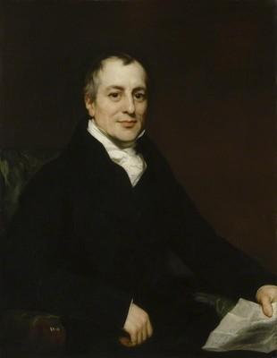 Портрет Давида Рикардо, 1821 г.