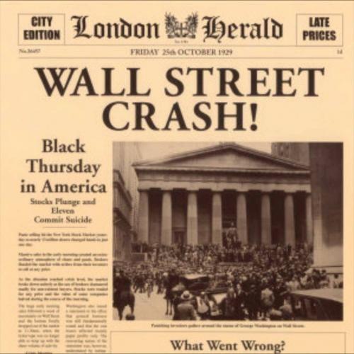 Статья в Лондонской газете о событиях Чёрного четверга