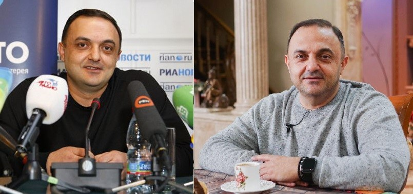 Альберт Бегракян в 2009 и 2020 году