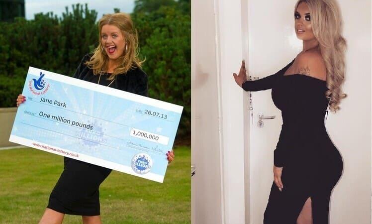 Джейн Парк в 2013 и в 2020 году