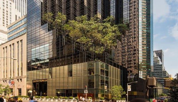 Trump Tower в Нью-Йорке