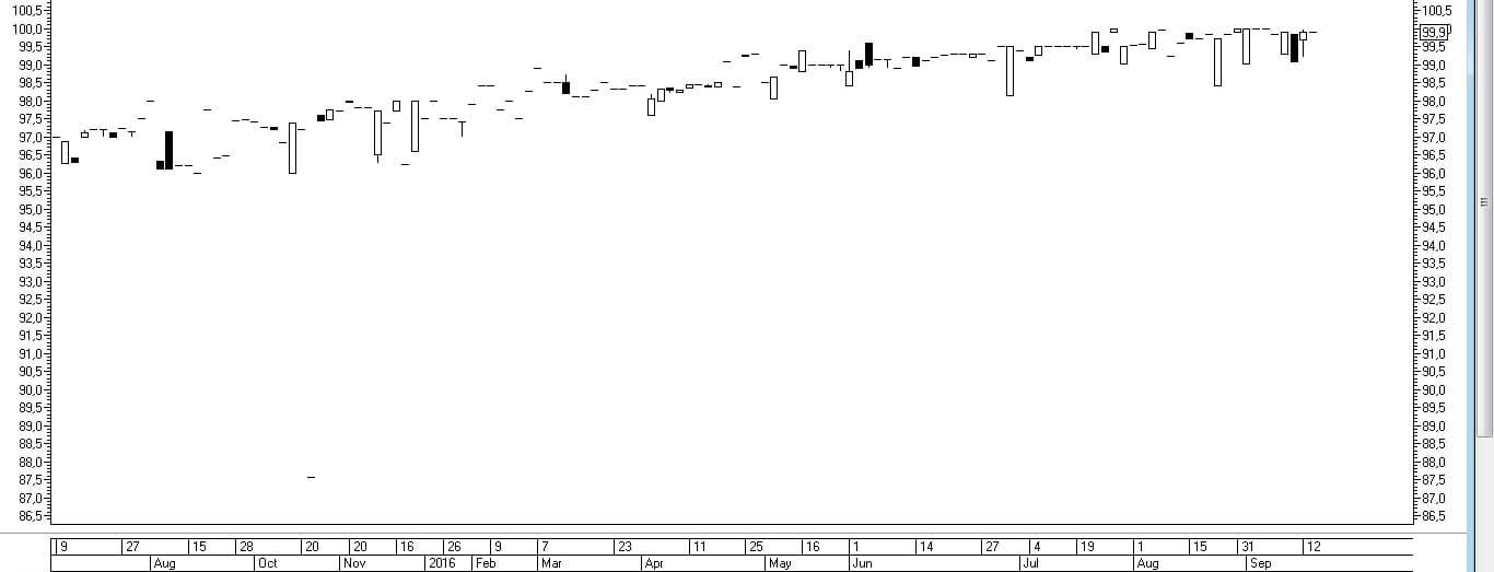 Рис. 1. График облигации