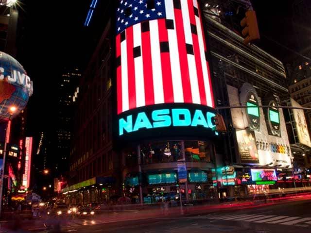 Рис. 1. Биржа NASDAQ на Таймс-Сквер
