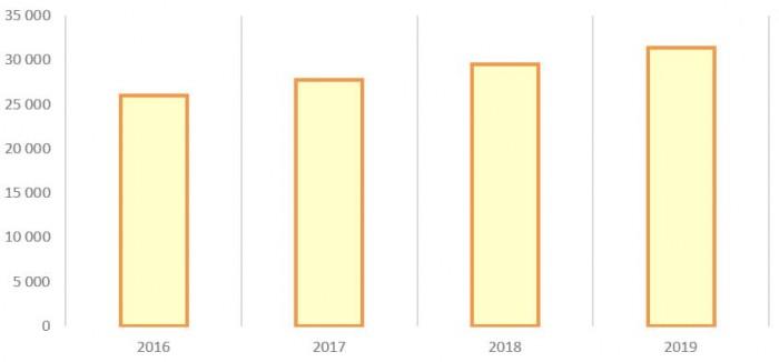 Источник: Годовой отчёт ПАО «ММЦБ» за 2019 год