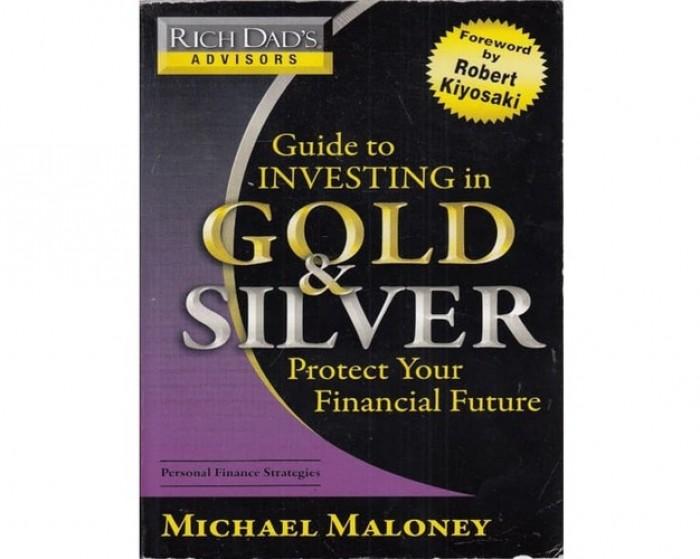 Обложка англоязычного издания книги «Руководство по инвестированию в золото и серебро»