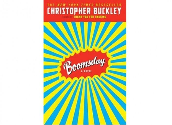 Обложка англоязычного издания романа Кристофера Бакли «День бумеранга»