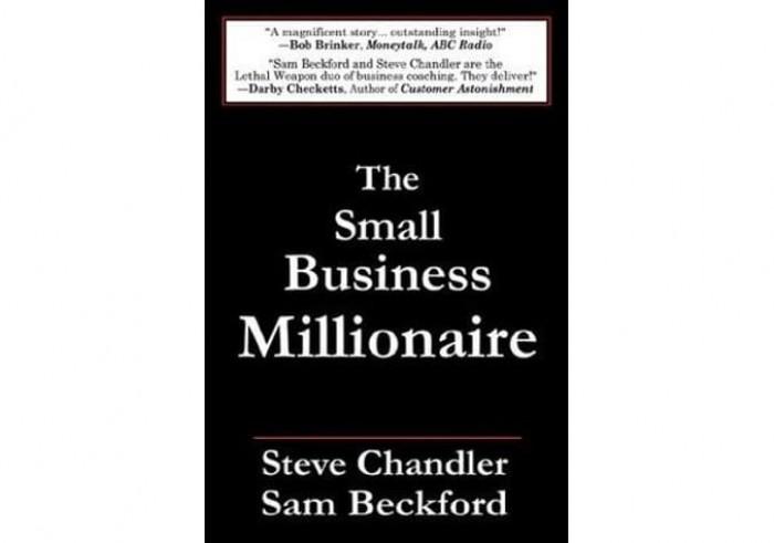 Обложка англоязычного издания романа Стива Чандлера и Сэма Бекфорда «Миллионер от малого бизнеса»