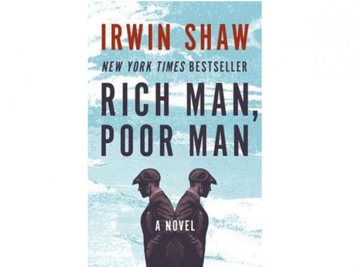 Обложка англоязычного издания романа Ирвина Шоу «Богач, бедняк»