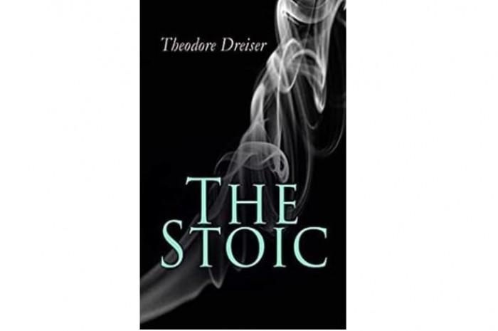 Обложка англоязычного издания романа Теодора Драйзера «Стоик»