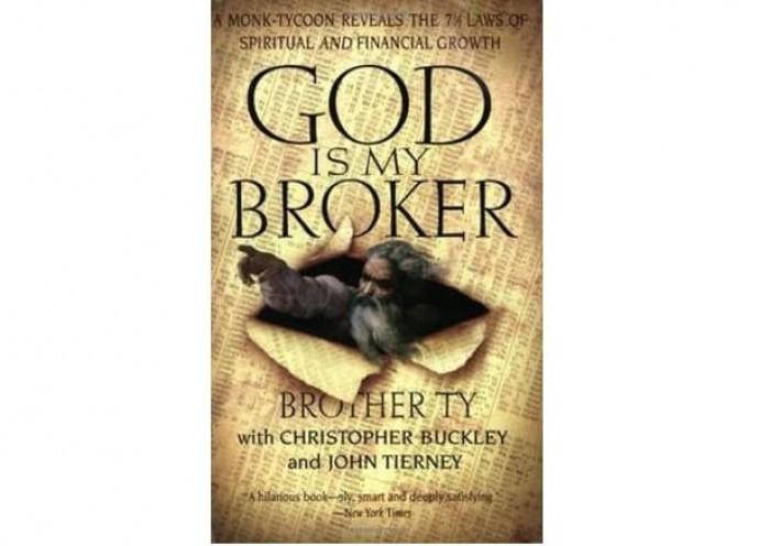 Обложка англоязычного издания романа Кристофера Бакли «Господь — мой брокер»