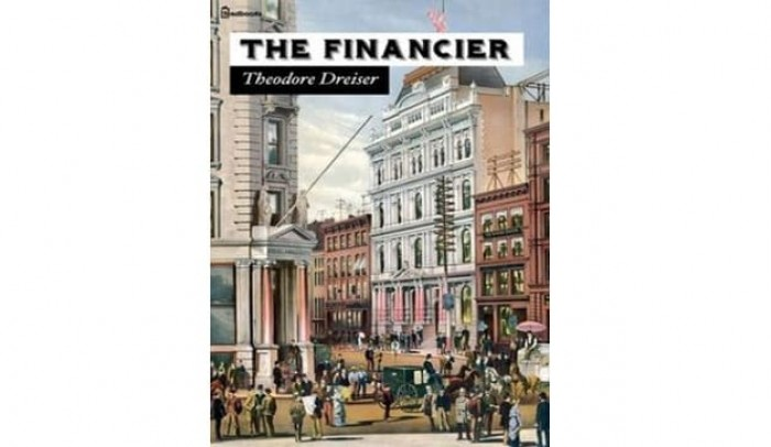 Обложка англоязычного издания романа Теодора Драйзера «Финансист»