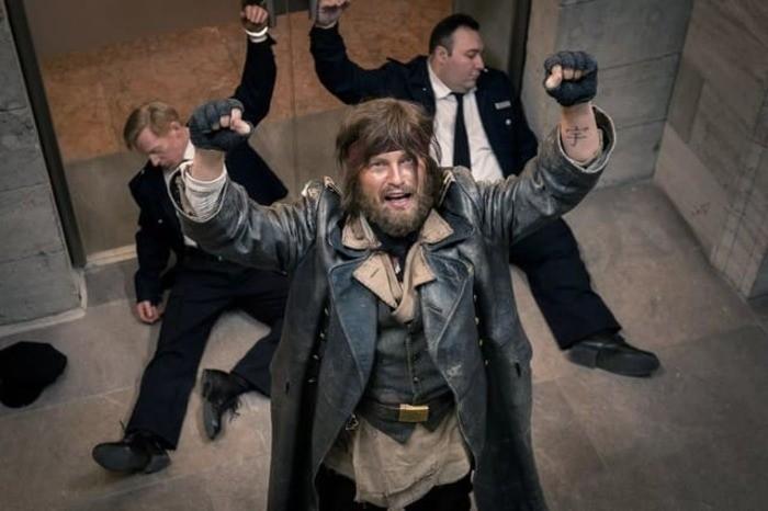 Кадр из фильма «Четверо против банка»
