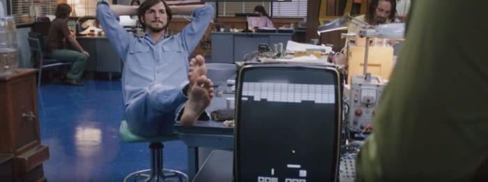 Кадр из фильма «Джобс: империя соблазна»