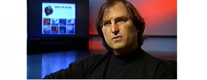 Кадр из фильма «Стив Джобс. Потерянное интервью»
