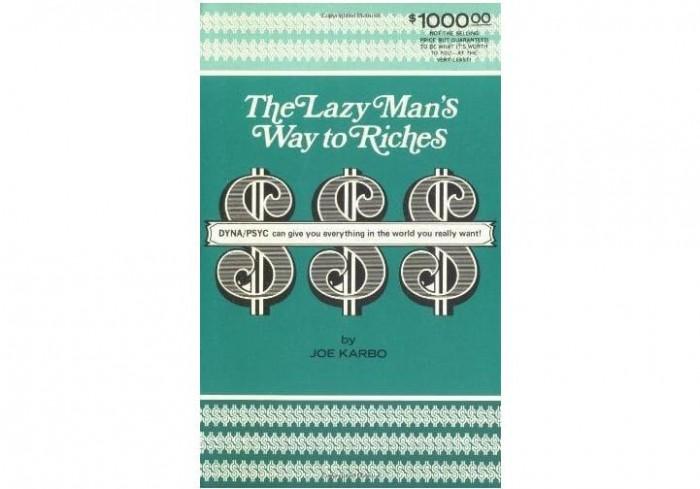 Обложка англоязычного издания книги «Как заработать деньги, будучи ленивым»