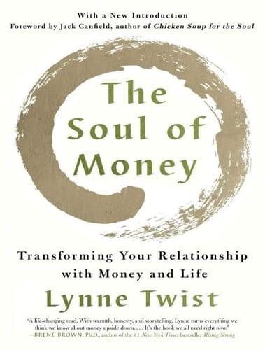Обложка англоязычного издания книги «Душа денег. Преобразование ваших отношений с деньгами и жизнью»