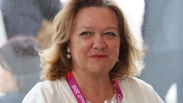 Джина Рейнхарт, 2020 год. Фото: News com.au