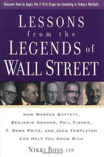 Обложка англоязычного издания книги «Секреты выдающихся инвесторов»