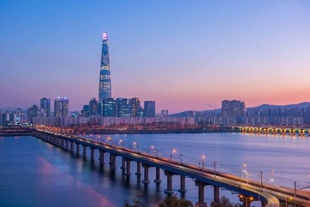 Сеул, башня Lotte World Tower. Фото из открытого источника