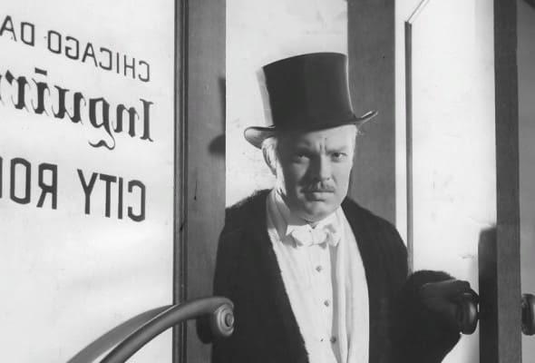 Чарльз Кейн. Кадр из фильма «Гражданин Кейн» (1941)