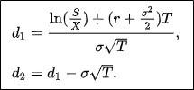 Что определяет модель Блэка-Шоулза