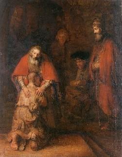 «Возвращение блудного сына» (1666/1669).