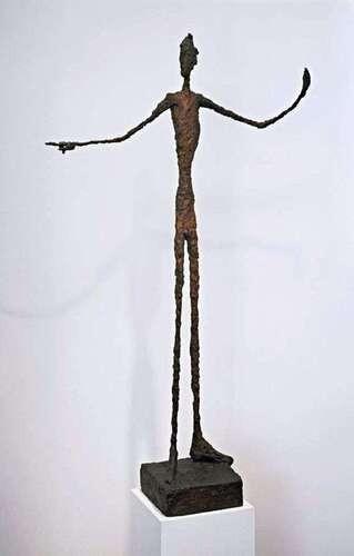 Рис. 11. «Указывающий человек», Альберто Джакометти. Источник: wikipedia.org