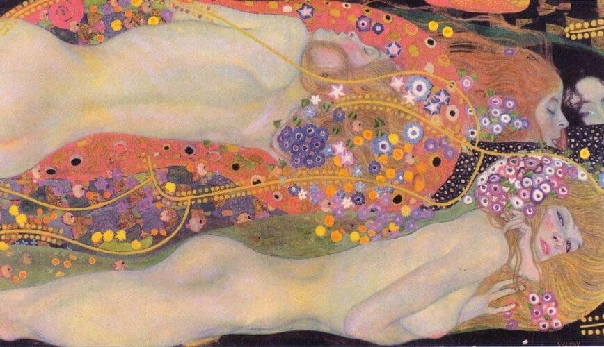 Рис. 9. «Водяные змеи II», Густав Климт. Источник: wikipedia.org