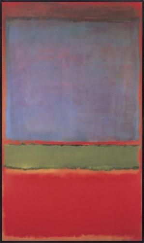 Рис. 6. «№ 6 (Фиолетовое, зелёное и красное)», Марк Ротко. Источник: wikipedia.org