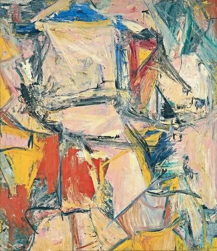 Рис. 2. «Обмен», Виллем де Кунинг. Источник: wikipedia.org