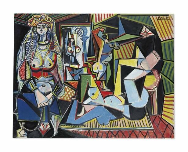Рис. 7. «Алжирские женщины (Версия О)», Пабло Пикассо. Источник: wikipedia.org