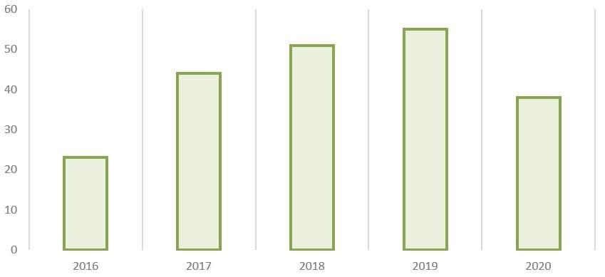 Рис. 15. Источник: годовые отчёты ПАО «Сегежа Групп»
