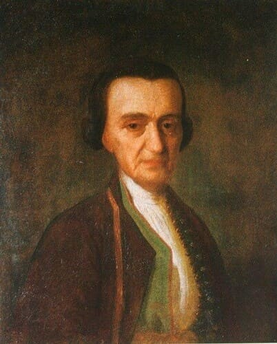 Рис. 1. Иван Аргунов, «Портрет Л. Н. Лазарева», 1760-е гг.