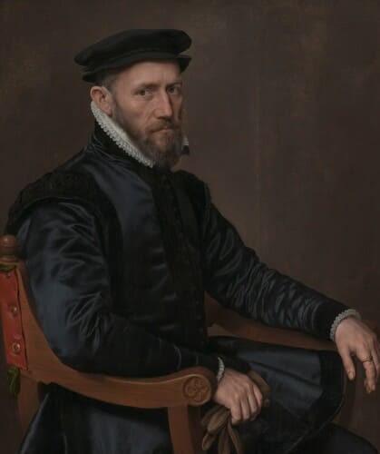 Рис. 4. Сэр Томас Грешем (1519–1579)