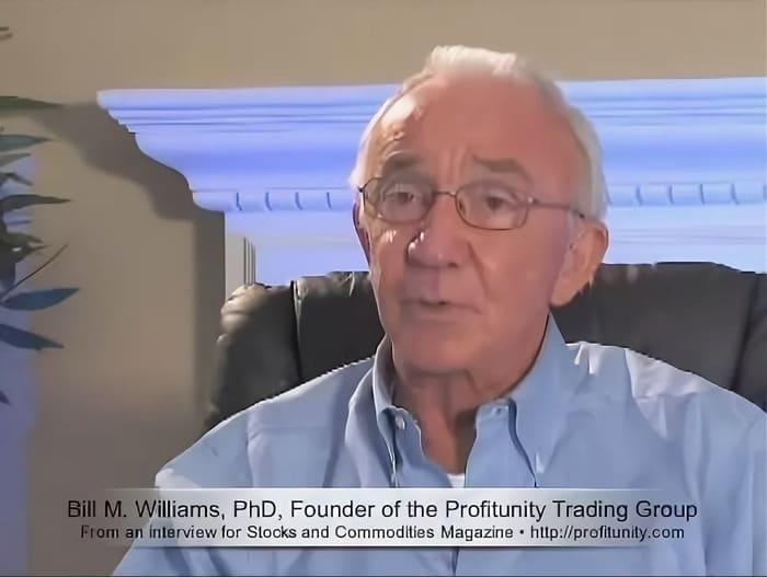 Билл Уильямc, кадр из интервью
