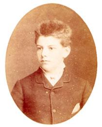 Луи Башелье, 1885 год.