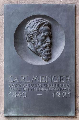Мемориальная доска на стене Венского университета