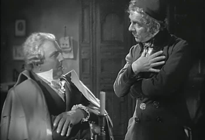 Кадр из фильма «Акции Ротшильда под Ватерлоо» (Die Rothschilds)
