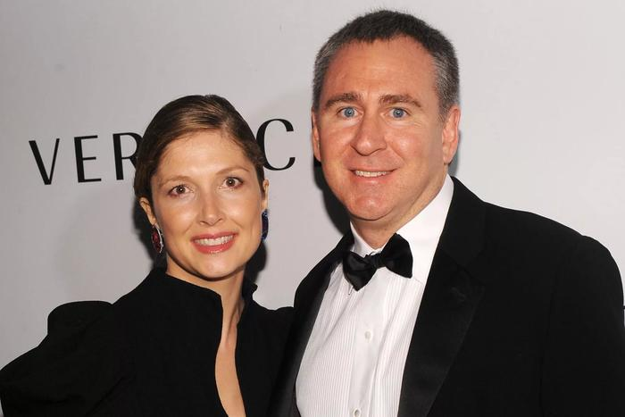 Кеннет Гриффин с супругой