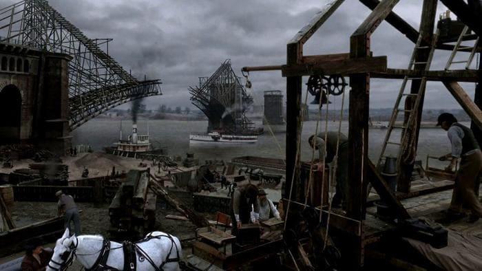 Кадр из фильма «Люди, построившие Америку» (The Men Who Built America)