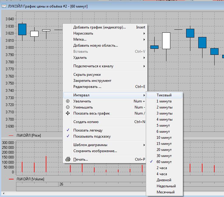 Рис. 5. QUIK 7: настройка терминала для торговли акциями