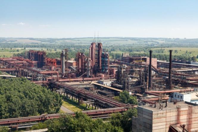 Производство ОАО «Алтай-Кокс». Фото с официального сайта ПАО «НЛМК»