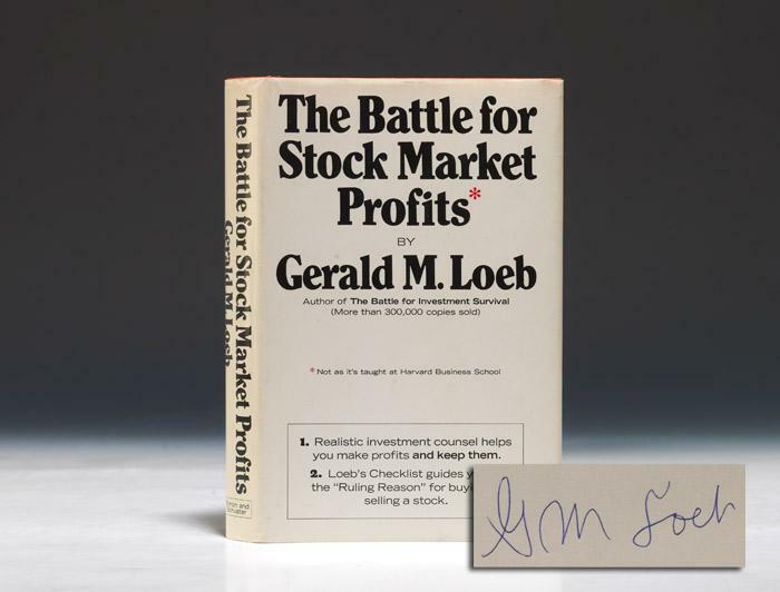 Обложка книги «Битва за рыночную прибыль» Джеральда Лоэба