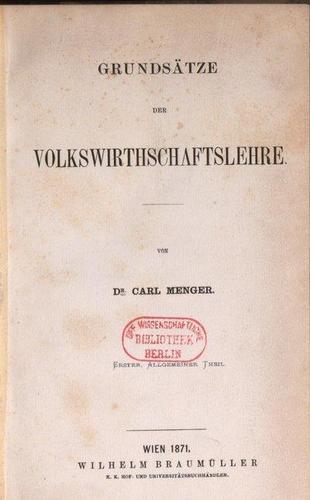Титул первого издания «Основ политической экономии»