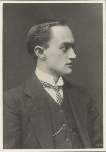 Йозеф Шумпетер, 1910 г.