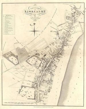 Карта Киркоди, 18 век