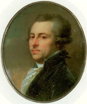 Алексей Иванович Мусин-Пушкин, Портретная миниатюра 1790-х гг.