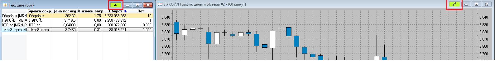Рис. 6. QUIK 7: настройка терминала для торговли акциями